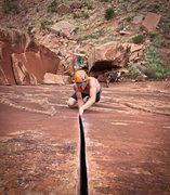 Rock Climbing Photo: excuse station