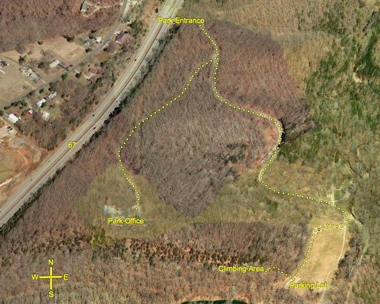 Rock Climbing Photo: St. Francois Park Map