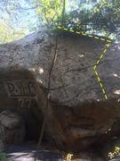 Rock Climbing Photo: Back Sap and Hand of Glory.