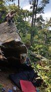 Rock Climbing Photo: Tanya giving it a send
