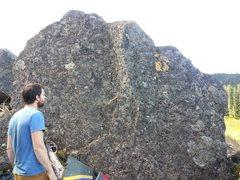 Rock Climbing Photo: a V0 ish face.
