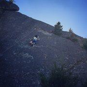 Rock Climbing Photo: 9yo