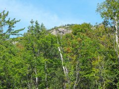 Rock Climbing Photo: You see this from the road ... part of the Upper D...