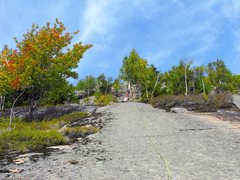 Rock Climbing Photo: End of 2 nd (?) pitch, the scramble upwards begins...