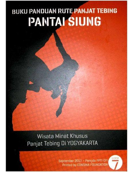 Rock Climbing Photo: Buku Panduan Rute Panjat Tebing - Pantai Siung (co...