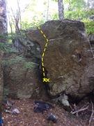 Rock Climbing Photo: Swamp Boulder