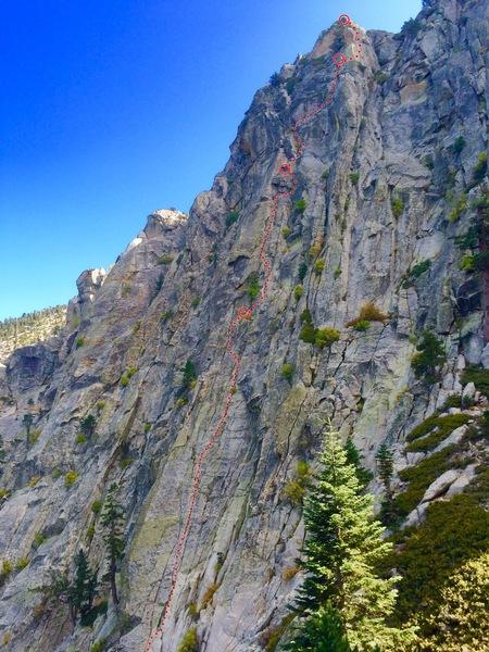 Rock Climbing Photo: MEDDLE