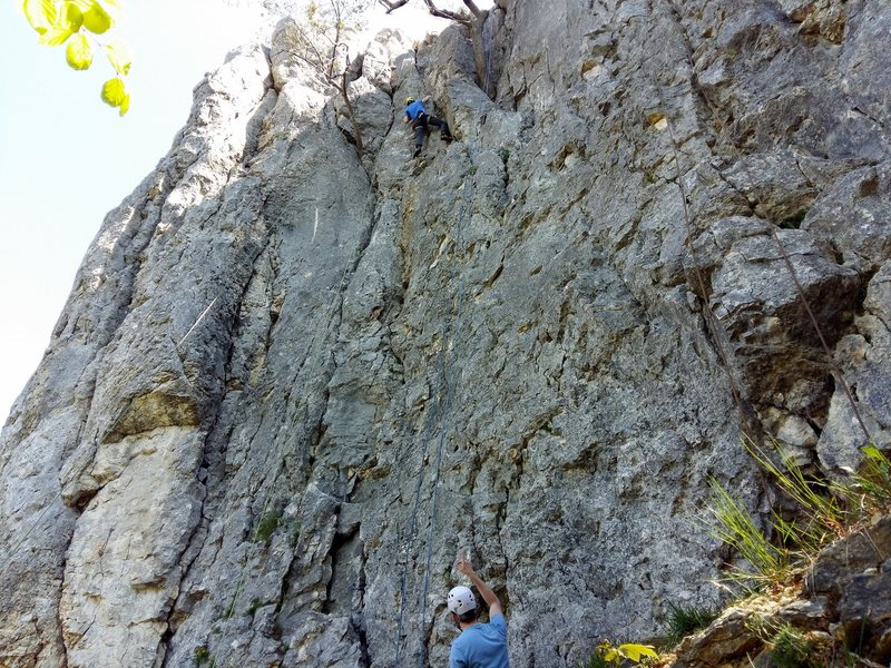 Rock Climbing Photo: Middle area