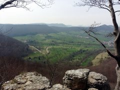 Rock Climbing Photo: View of the nearby village from the top
