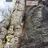 CLimbing the easy corner