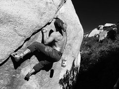 Rock Climbing Photo: Only the Strong will Survive!! Photo by KG!!!