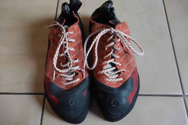 Rock Climbing Photo: Scarpa Men's climbing shoes