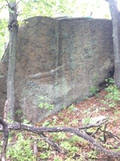 Rock Climbing Photo: The other side of Vortex Boulder.