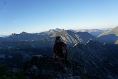 Rock Climbing Photo: Mt Stuart North Ridge
