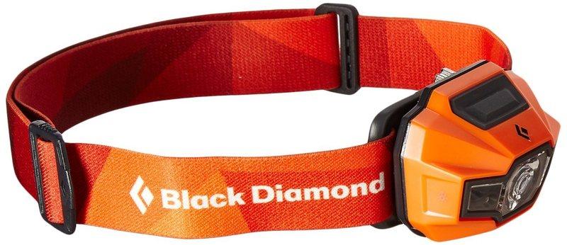 Black Diamond Storm Headlamp in Vibrant Orange