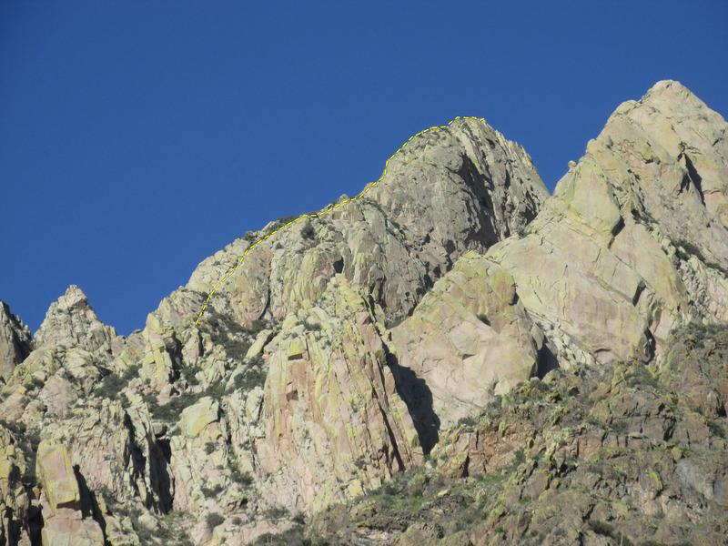 West Face of Lost Peak.