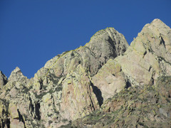 Rock Climbing Photo: West Face of Lost Peak.