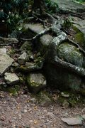 Rock Climbing Photo: Walking up the trail, count the benches. Once you&...