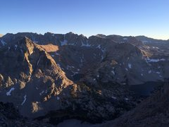 Rock Climbing Photo: alpenglow outside bishop