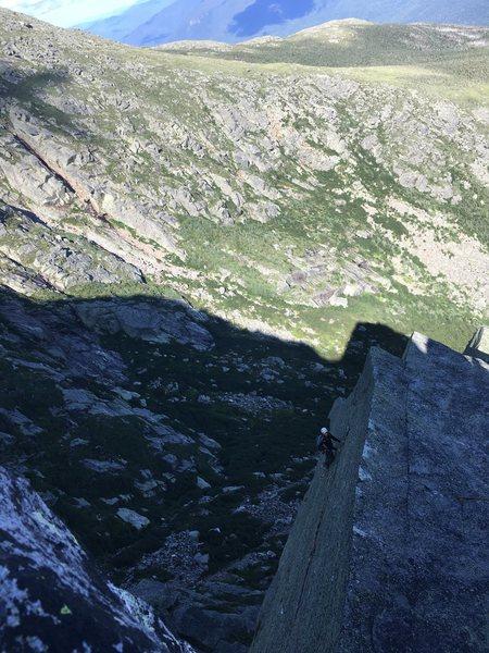 Rock Climbing Photo: mt washington with dave