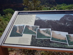 Rock Climbing Photo: the interpretive sign ~100' from the climbers&...