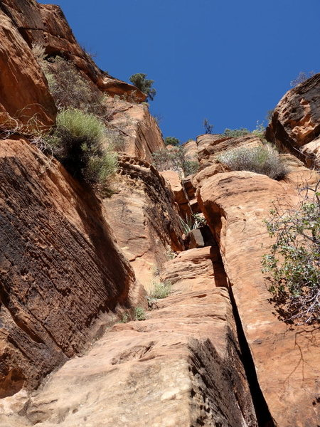Rock Climbing Photo: one of the lower ramps