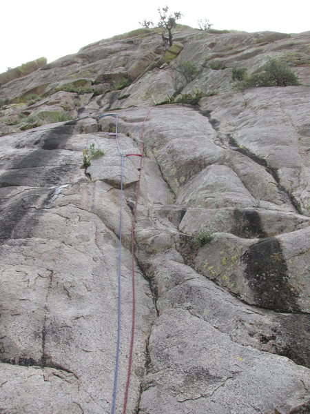 Rock Climbing Photo: Start of route.