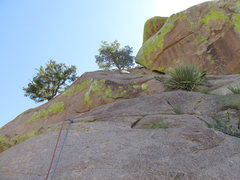 Rock Climbing Photo: Middle of Pitch 3.