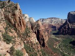 Rock Climbing Photo: looking upcanyon