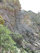 Rock Climbing Photo: Bucky's Twin as seen from top of Mother's ...