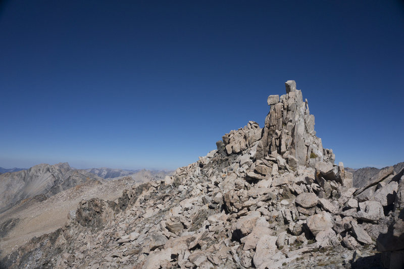 Summit pinnacle.