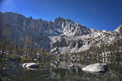 Rock Climbing Photo: Matlock Lake and University Peak - Kearsarge Area.
