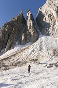Rock Climbing Photo: Me approaching on 9-17-2016.