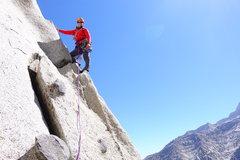 Rock Climbing Photo: Beckey Route, Whitney Portal