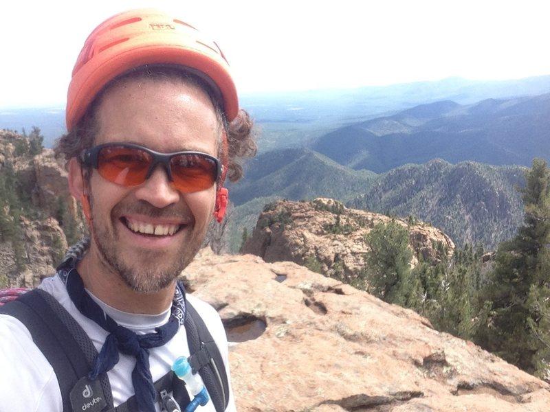 Rock Climbing Photo: The wonderland of rocks above Bear Gully.