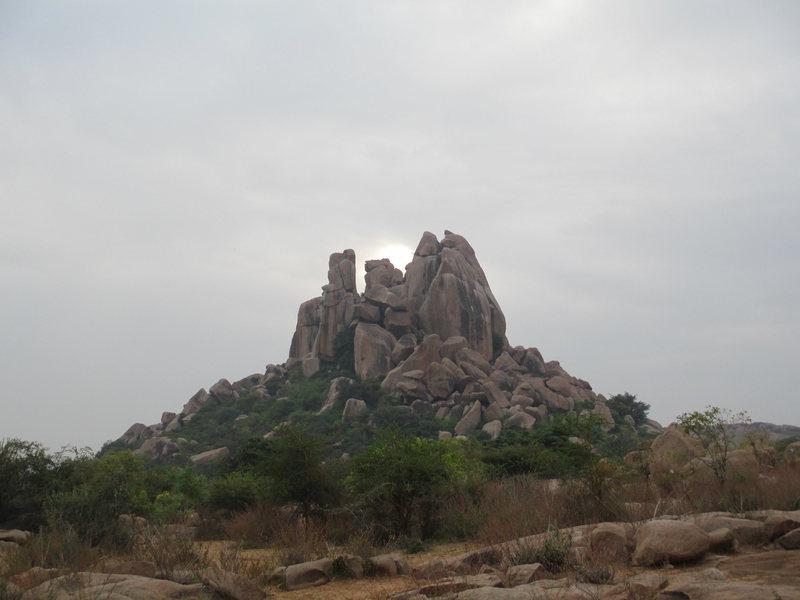 The Rishimukh Plateau at Hampi