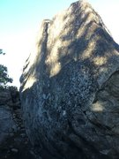 Rock Climbing Photo: The side view of Stretch Marks
