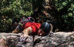 Rock Climbing Photo: The Right Twin (5.7) Photo: Alex Beld