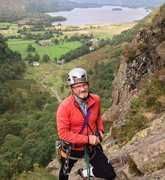 Rock Climbing Photo: On Black Crag Borrowdale .. English Lake District
