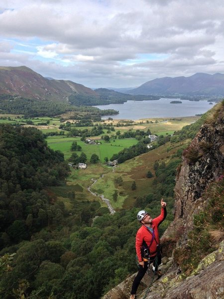 Rock Climbing Photo: On Black Crag UK