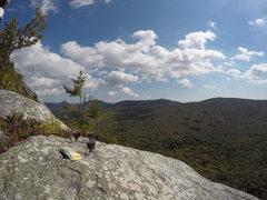 "Rock Climbing Photo: Enjoying some w""h""ine and cheese."