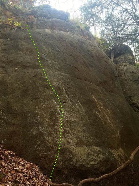 Rock Climbing Photo: Mista Girly Man