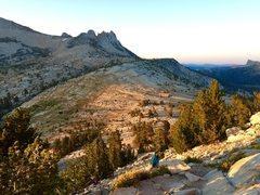 Rock Climbing Photo: Cathedral  Dawn at dawn