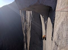 Rock Climbing Photo: Great Roof.  Photo by Stephen Guyette.
