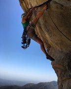 Rock Climbing Photo: Evan on the Nose