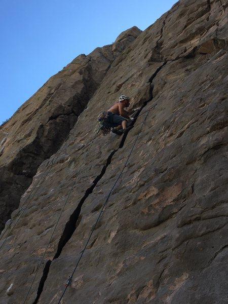 Rock Climbing Photo: Wacked Scenario