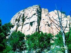 Rock Climbing Photo: Menses Prow, Shelf Road