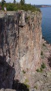Rock Climbing Photo: Sydney on Superior Crack!