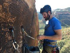 Rock Climbing Photo: Top anchor.