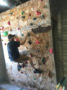 Rock Climbing Photo: Climbing wall